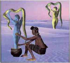 The Creation of Snake Charmers--How Eve Conquered the Serpent